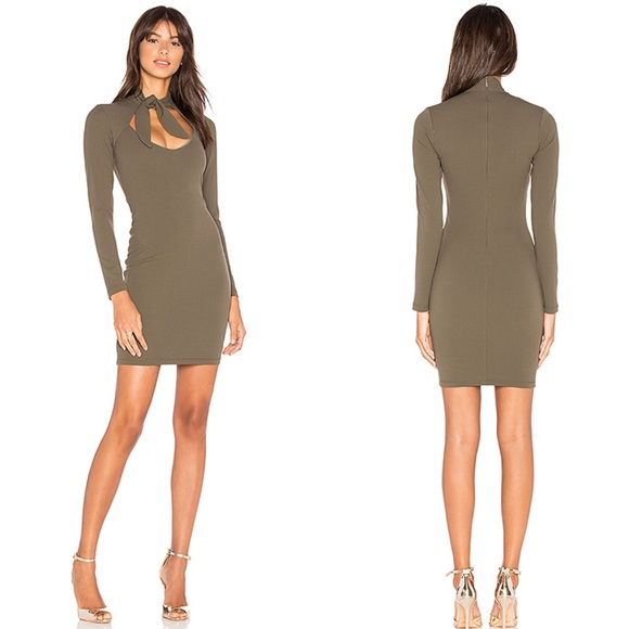 Nookie Dresses & Skirts - NWT Nookie Foxy Tie Mini Dress